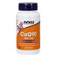 高濃度CoQ10 400mg (Now)