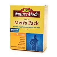 ネイチャーメイド Daily Men's Pack Vitamin Supplement for Men