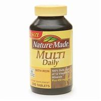 ネイチャーメイド Multi Daily Vitamin with Iron