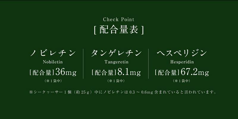 沖縄産シークヮーサー粒